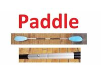 PADDLE - Fishing Boat, Kayak - H2o Wave Asymmetrical 230cm