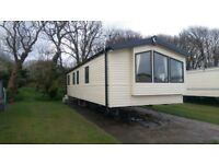 Caravan for hire/ rent In Lydstep Beach village Tenby west wales