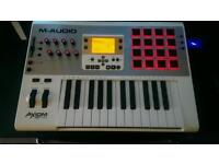 M audio axiom air 25 midi keyboard