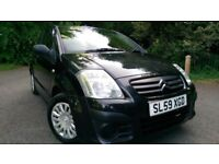 Citron C2 1.4 2009 Reg VTR Model Low Mileage (Similer to Fiesta Clio Punto Corsa ) New drivers Ideal