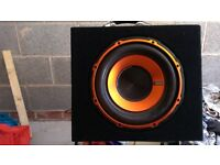 New condition Edge 750w car subwoofer