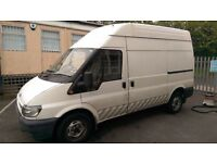 Ford transit 2.5 mwb, high roof