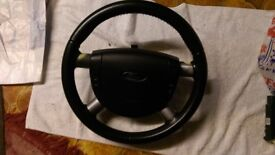 Ford Mondeo Leather Steering Wheel With Airbag Cruise Control