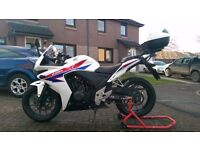 CBR500R, full servive history, one years MOT, good condition