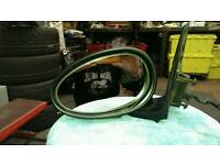 Mg zs passenger side electric door mirror