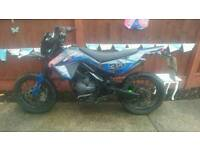 Super moto 125cc motor bike