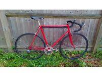 Dawes Stratos Road bike Large 23inch Reynolds 531 Shimano 105