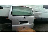 VW T5 T5.1 TRANSPORTER CARAVELLE MULTIVAN TAILGATE DAMAGE EASY TO FIX IDEAL FOR CONVERSION