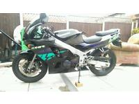 Kawasaki zx6r, 23800 miles. ,mot April2018,