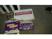 Games bundle not played with mainly still in sealed packets