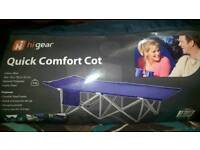 High Gear camp bed
