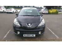 207 Sport HDI 90 1.6 Manual Diesel Panoramic Roof - Cheap Tax £30/Yr Low Mileage