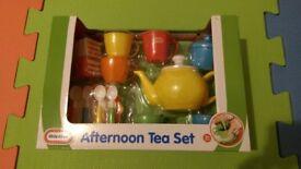 Brand new - Little Tykes - Afternoon Tea set - £5