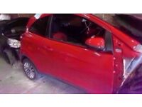 2014 MK2 FORD KA EDGE 1.2 PETROL BREAKING FOR PARTS IN RED