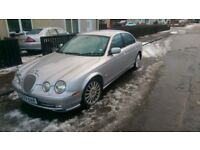 Jaguar S-Type with a very rare manual transmission