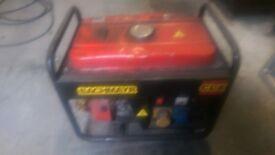 Generator for sale.