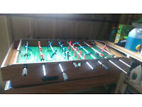 4 foot 4 in 1 games table: pool, table tennis, air hockey and table football