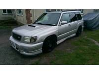 Subaru forester sti not wrx