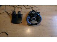 Datel Super Sports 3X Steering Wheel (PS3/Xbox 360/PC)