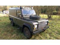 Land Rover Defender 110 Hard Top Ex Army , 300tdi , P. Steering