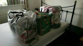 3 huge bags of baby clothes 0-18 months