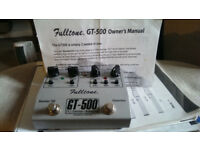 Fulltone GT-500 Overdrive/Distortion Pedal
