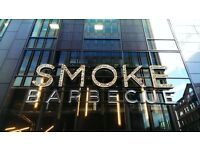SMOKE Barbecue Glasgow is looking for Experienced Line Chefs