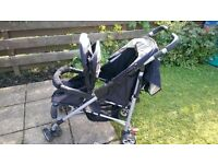 Mothercare double buggy for sale