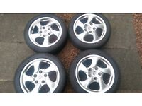 Genuine Porsche wheels Boxster 911 alloys