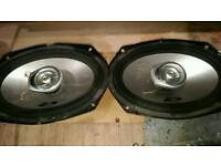 Alpine 6x9 speakers