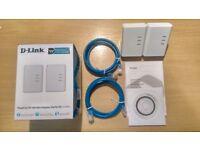 D-Link Powerline AV500 Mini Adaptor Starter Kit (Boxed)