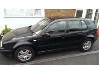 VW Golf, 1.9TDI Diesel Match, Black, £725