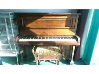 hand built 1920s piano