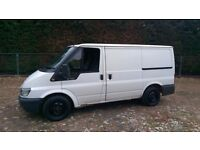 2005 05 Ford Transit SWB van with tailgate rear door starts drives 100% spares or repairs no MOT
