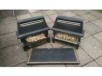 2 good quality Flavel gas fires