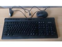 Wi-Fi keyboard and mouse