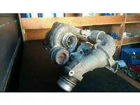 09-13 Mercedes sprinter 313 twin turbo chargers