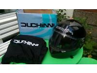 Motorcycle helmet in good condition, used only few times, 35 ono in large size