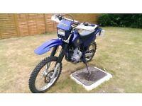 YAMAHA TTR250 2002 BLUE Long MOT, Kick & Electric Start, 10K miles