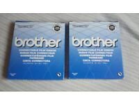 2x Brother Correctable Film Ribbon for Typewriter