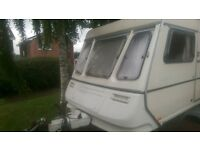 abbey 5 berth 95 caravan twin axle