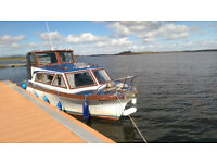"1976 Birchwood ""25 Cabin Cruiser"