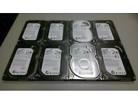 Seagate 500GB SATA II 3.5 Inch Desktop Hard Drive, Fully Tested, Multiple Available