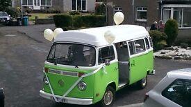 VW Type 2 Bay Window Campervan 1980 Devon Moonraker