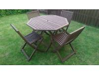 Lovely garden table now sold pending collection