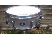 60's Slingerland 140 aluminium snare drum 14x5.5