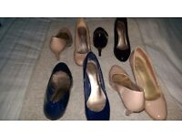 M&S shoe collection used 4 pairs