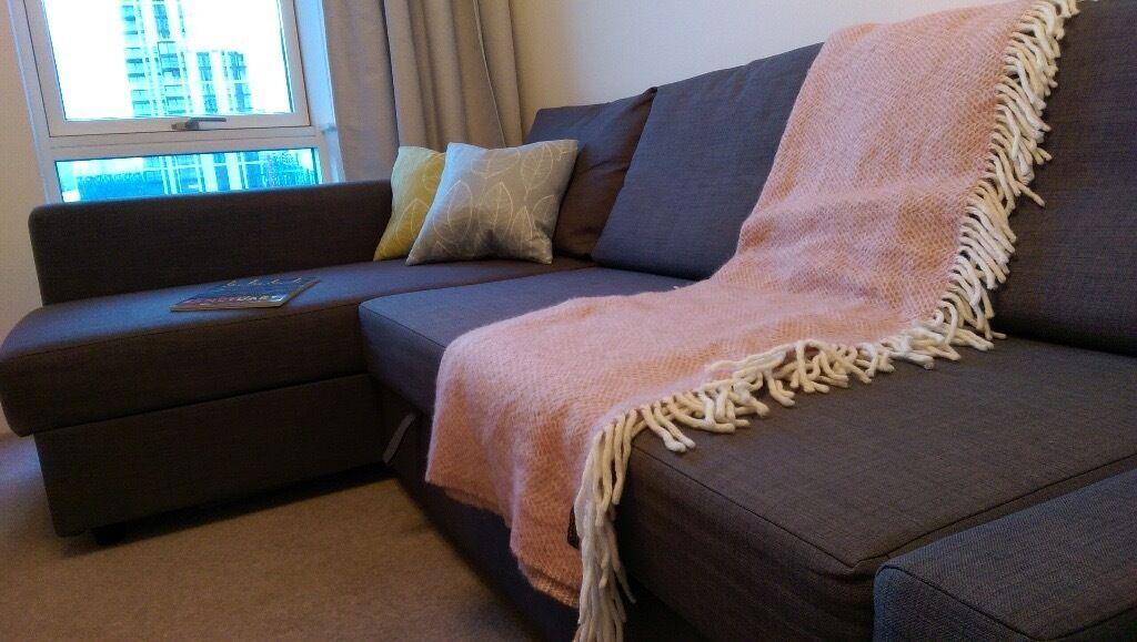Friheten sofa bed as good as new bargain 60 cheaper for Sofa bed gumtree london