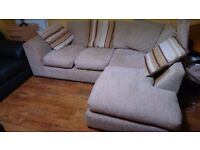 Right angle Sofa for sale. Great condition