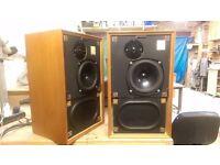 Vintage Kef Cadenza Speakers, Early version, Refurbished ABRs